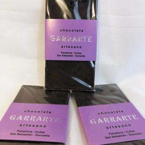 Tableta chocolate arandanos. 60% cacao. Sin azucar