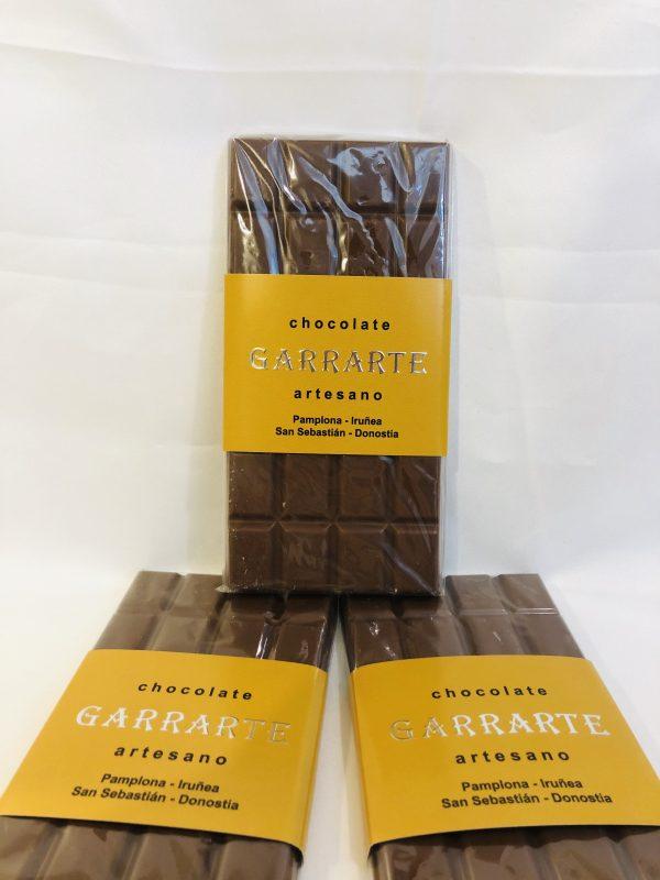 Tableta chocolate cafe. Con leche