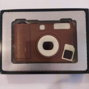 Cámara de fotos de chocolate