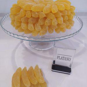 Gominolas plátano