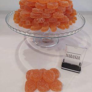 Gominolas naranja