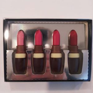 Pinta labios de chocolate.