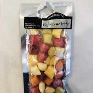 Caramelos cojines de frutas