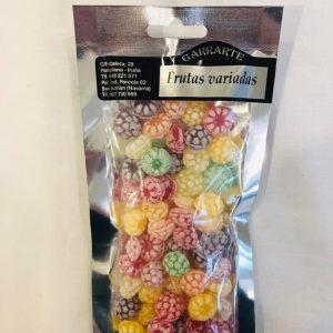 Caramelos frutas variadas