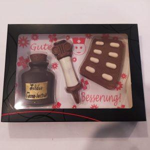 Set chocolate médico
