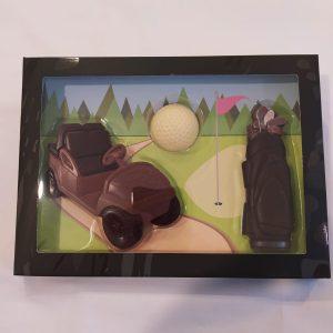 Set chocolate golf