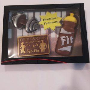 Set chocolate fitness