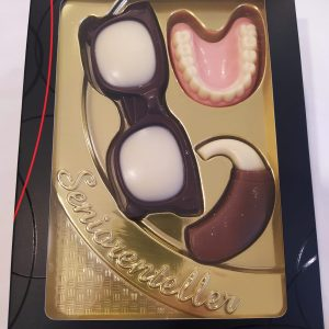 Set chocolate anciano
